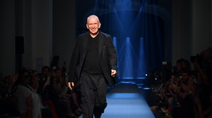 Jean-Paul Gaultier walks the runway during the Jean Paul Gaultier Haute Couture Fall/Winter 2019 2020 show | Source: Getty Images