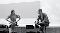 Miuccia Prada and Fabio Zambernardi | Credit: Brigitte Lacombe