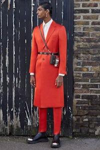 Alexander McQueen Autumn/Winter 2020 menswear | @alexandermcqueen Instagram