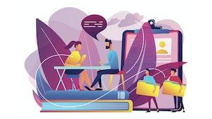 Job application journey illustration | Source: Shutterstock