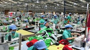 A garment factory in Cambodia | Source:  Shutterstock
