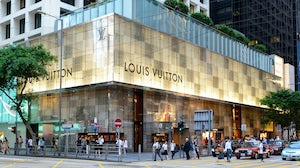 A Louis Vuitton store in Hong Kong | Source: Shutterstock