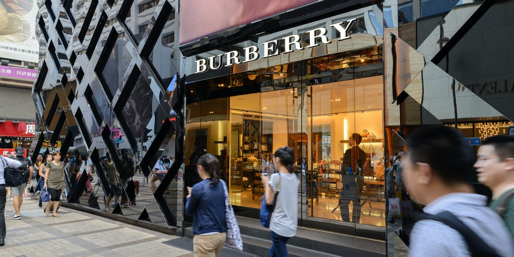 Burberry Faces Hong Kong Slump