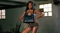 """Telfar """"Shopping"""" Bag campaign featuring Oyinda and shot by June Canedo 
