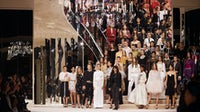 The finale of Chanel's Métiers d'Art in December, 2019   Source: Courtesy