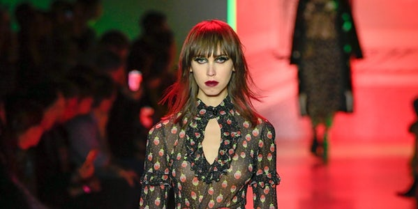 Gothic Glam at Anna Sui