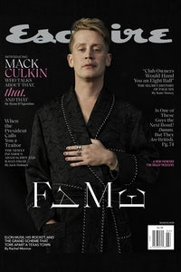 Esquire's latest issue featuring Macaulay Culkin | Source: Courtesy