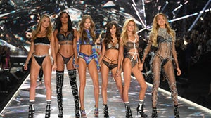 Models walk the runway at the 2018 Victoria's Secret Fashion | Source: Getty Images