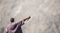 Kanye West performs Sunday Service during Coachella | Source: Rich Fury/Getty Images