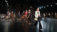 Khaite's spring 2020 runway show   Source: Peter White/WireImage