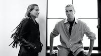 Miuccia Prada and Raf Simons, the co-creative directors of Prada | Source: Courtesy