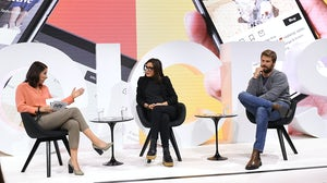 Maria Raga and Max Bittner speak during BoF VOICES | Source: Getty Images for The Business of Fashion