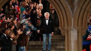 Ralph Lauren's 50th anniversary show in 2018 | Source: Shutterstock
