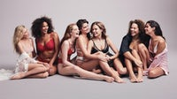 A recent Victoria's Secret campaign featured mainstays alongside new plus-size models, in a shift in marketing approach | Source: Courtesy