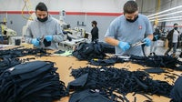 Workers at AST Sportswear in California switch from making t-shirts to masks | Source: Mindy Schauer, Orange County Register/SCNG