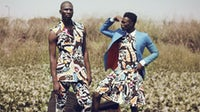 Designer Adebayo Oke-Lawal's label Orange Culture on Not Just a Label | Source: Courtesy