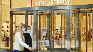 Pedestrians pass in front of  Nordstrom in New York | Source: Getty