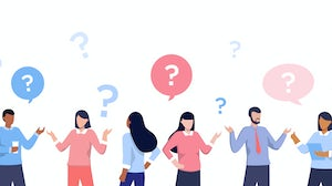 Employees asking questions | Source: Shutterstock