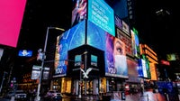 An American Eagle billboard in Times Square | Source: Getty Images