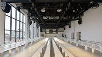 A empty runway in Gallery I at Spring Studios in New York | Source: Getty Images