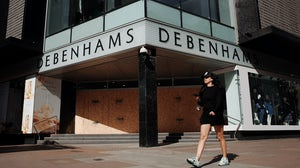 Debenhams store on Oxford Street in London | Source: Getty Images