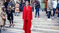 Caroline Issa at Paris Fashion Week | Source: Shutterstock