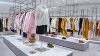 Luxury fashion on display in a store | Source: Shutterstock