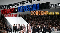 Christian Dior Women's Autumn/Winter 2020 show at Paris Fashion Week in February, before lockdowns to contain the spread of Covid-19 were implemented in France | Source: Getty Images