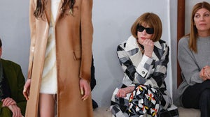 Anna Wintour at Milan Fashion Week in February 2020 | Source: Estrop/Getty Images