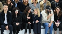 The front row at a Paris Fashion Week show | Source: Getty Images