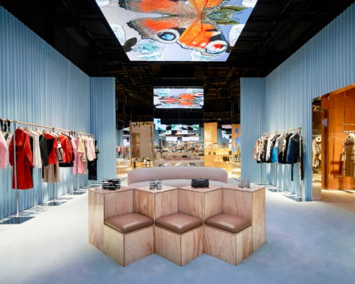 Inside Burberry's Shenzhen store | Source: Courtesy of Burberry