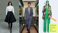 Shows from Prada, Zegna and Gucci | Source: Courtesy