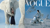 Vogue Taiwan's May CGI cover shoot | Source: Yii Ooi