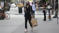 A shopper in New York | Source: Getty