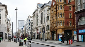 Deserted Oxford Street during the Covid-19 lockdown | Source: Shutterstock