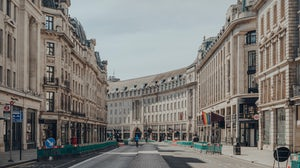 Regent Street, a major shopping street in the West End of London | Source: Shutterstock