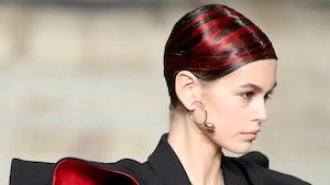 Alexander McQueen Show Fall Winter 2020 at Paris Fashion Week with Josh Wood Colour hair styling | Source: Courtesy