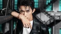 Jackson Yee (aka Yi Yangqianxi) in a Tiffany campaign | Source: Tiffany's Weibo channel