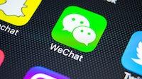 WeChat app | Source: Shutterstock
