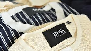 Hugo Boss clothes   Source: Shutterstock