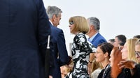 Bernard Arnault and Anna Wintour at Paris Fashion Week in October 2016 | Source: Getty Images