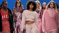 The Juicy Couture show during London Fashion Week in February 2018 | Source: Getty