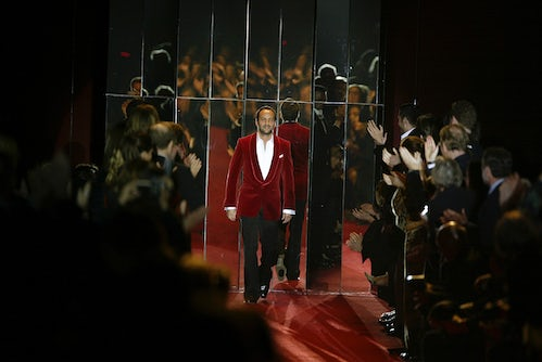 Tim Blanks' Top Fashion Shows of All-Time: Tom Ford's Yves Saint Laurent Finale, March 7, 2004 | Fashion Show Review, Tim's Take, Tim Blanks' Top Fashion Shows of All-Time