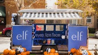 E.l.f. Cosmetics' approach to Halloween was both physical and digital, and included a branded truck that delivered products and candy to Los Angeles residents. | Source: Courtesy