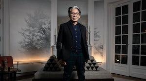 Kenzo Takada in 2019 | Source: Joel Saget/AFP via Getty Images