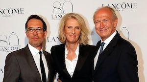 Nicolas Hieronimus, Francoise Lehmann and Jean-Paul Agon   Source: Getty Images