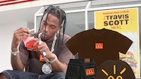 The Travis Scott McDonald's collaboration included apparel, accessories and home goods. | Source: McDonald's