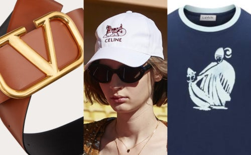 Old logos making a comeback at Valentino, Celine, and Lanvin