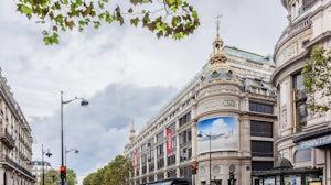 Printemps Haussmann store in Paris   Source: Shutterstock