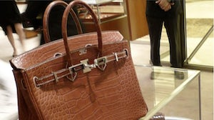 Hermes alligator Birkin | Source: PurseForum